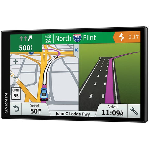 "Garmin Drivesmart 61 Lmt-s 6"" Gps Navigator With Lifetime Maps Of North America & Live Traffic"