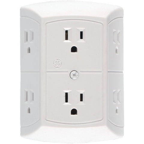 Ge 6-outlet In-wall Adapter