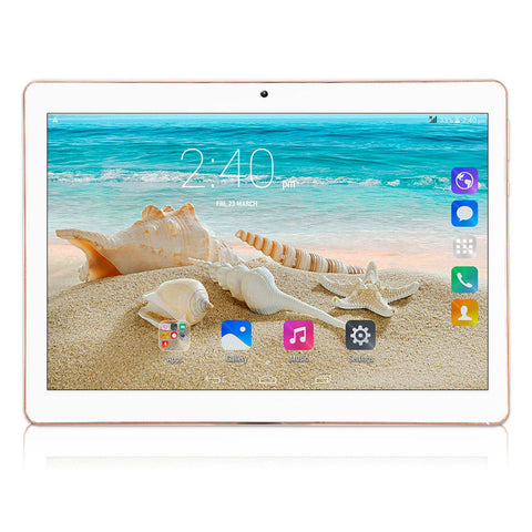10.1'' IPS Tablet PC-Rose Gold US Plug