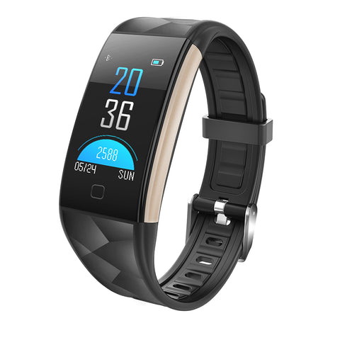 T20 Waterproof Smart Watch- Black