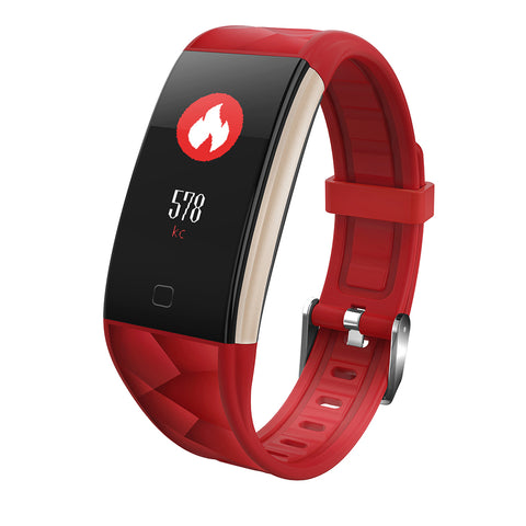 T20 Waterproof Smart Watch- Red
