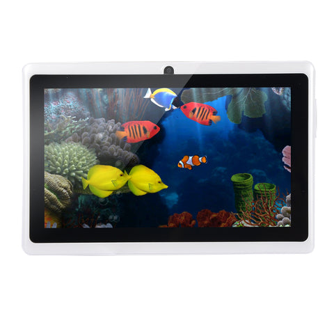7-Inch 512MB + 4GB Tablet White