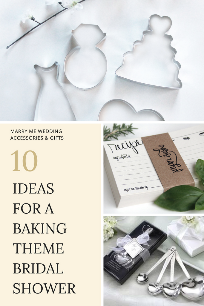 10 Ideas For A Baking Theme Bridal Shower