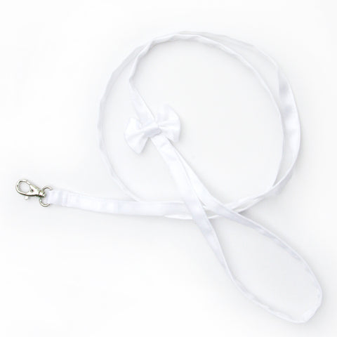 Pet Wedding Leash - White - Multiple Styles - Marry Me Wedding Accessories & Gifts - 1