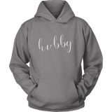 """Hubby"" Hoodie - Marry Me Wedding Accessories & Gifts"