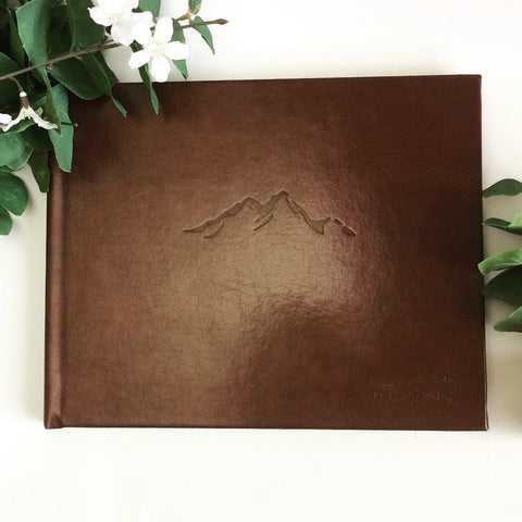 Mountain Wedding Guest Book - Marry Me Wedding Accessories & Gifts