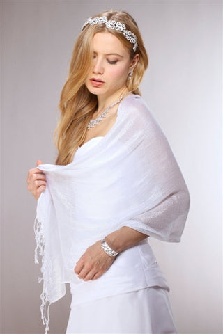 Luxurious Mesh Evening or Prom Wrap - Marry Me Wedding Accessories & Gifts - 1