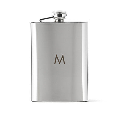 Classic Shiny Hip Flask - Marry Me Wedding Accessories & Gifts