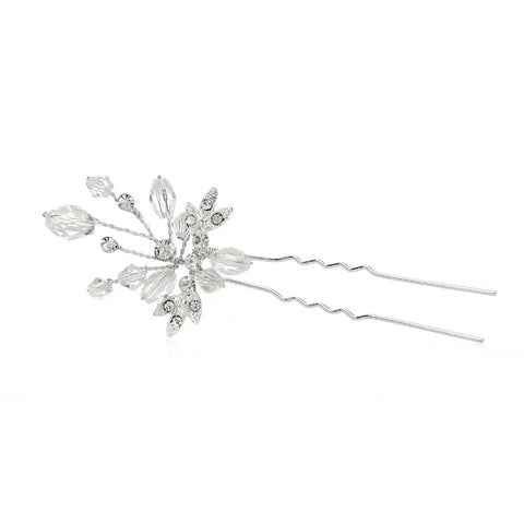 Sparkling Crystal Twigs Wedding Hair Stick - Marry Me Wedding Accessories & Gifts