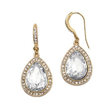 Crystal Teardrop Earrings - Marry Me Wedding Accessories & Gifts