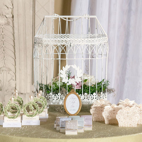 Metal Bird Cage - Conservatory Style - Marry Me Wedding Accessories & Gifts - 1