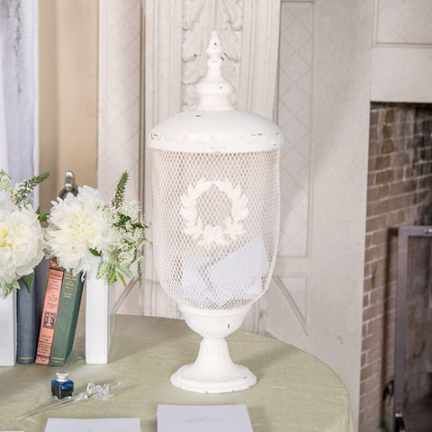 Metal Decorative Urn - Marry Me Wedding Accessories & Gifts - 1