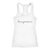 Honeymoonin Racerback Tank - Marry Me Wedding Accessories & Gifts