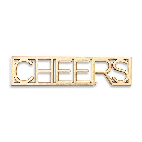Gold Cheers Bottle Opener Party Favor - Set of 5 - Marry Me Wedding Accessories & Gifts