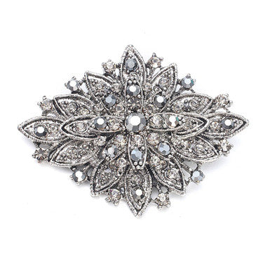Vintage Floral Bridal Brooch - Marry Me Wedding Accessories & Gifts
