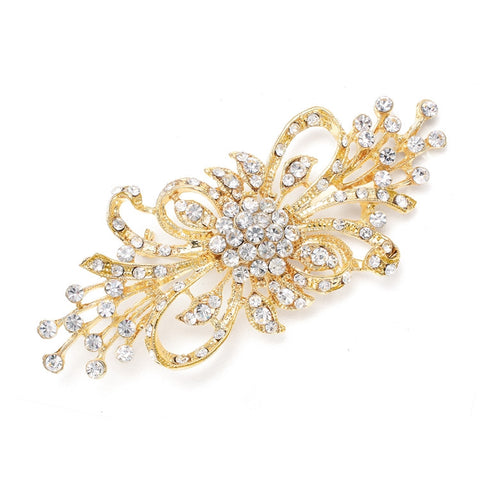 Dramatic Crystal Bridal Brooch - Marry Me Wedding Accessories & Gifts - 1