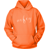 """Wifey"" Hoodie - Marry Me Wedding Accessories & Gifts"