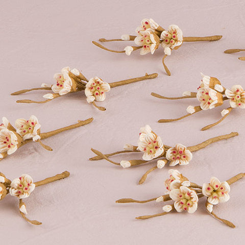 Sugared Cherry Blossom Spray - Marry Me Wedding Accessories & Gifts