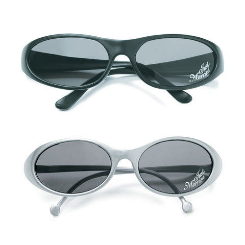 """Just Married"" Sun Glasses Black or Silver Frame - Marry Me Wedding Accessories & Gifts"