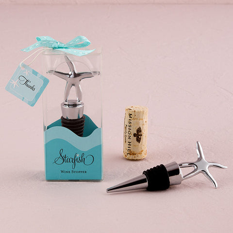 Starfish Wine Stopper - Marry Me Wedding Accessories & Gifts - 1