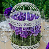 Classic Round Decorative Birdcage - Marry Me Wedding Accessories & Gifts