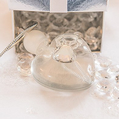 Celebration Bubbles in Heart with Sparkling Jewel