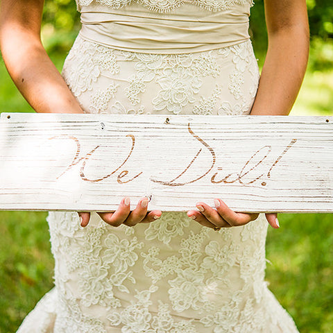 Rustic Chic Wooden Multi-Purpose Sign Boards - Marry Me Wedding Accessories & Gifts