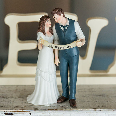"""Indie Style"" Wedding Couple Figurine - Marry Me Wedding Accessories & Gifts"
