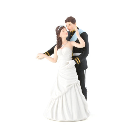 Prince and Princess Couple Figurine Cake Topper - Marry Me Wedding Accessories & Gifts - 1