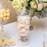 Decorative Pedestaled Apothecary Jar with Bell Shaped Bowl - Marry Me Wedding Accessories & Gifts