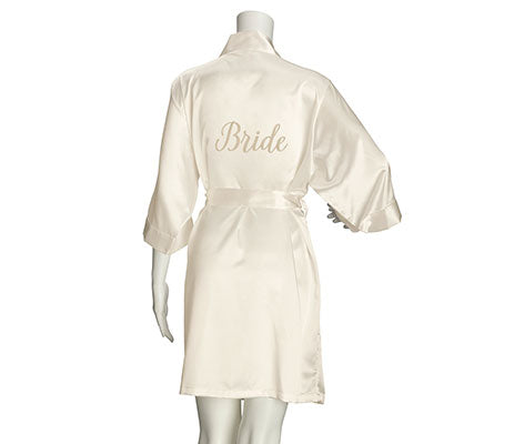 Bride Satin Robe - Marry Me Wedding Accessories & Gifts