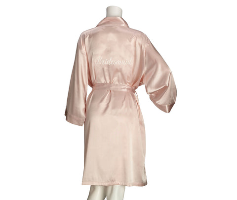 Bridesmaid Satin Robe - Marry Me Wedding Accessories & Gifts
