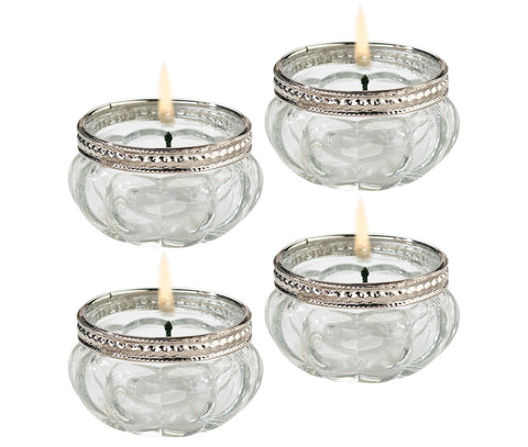 Set of 4 Tealight Cups - Marry Me Wedding Accessories & Gifts