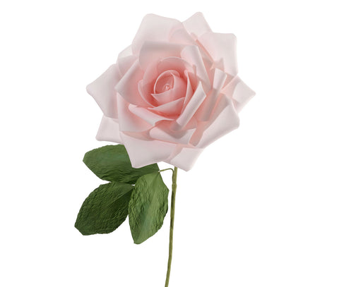 "10"" Stemmed Rose Decoration"