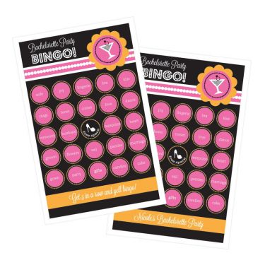 Bachelorette Party Bingo (set of 16) - Marry Me Wedding Accessories & Gifts