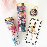 Floral Tumbler - Marry Me Wedding Accessories & Gifts
