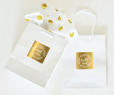 Bridal Party Gift Bags (set of 6)