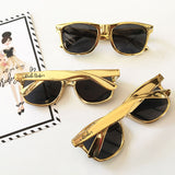 Gold or Black Bachelorette Sunglasses - Marry Me Wedding Accessories & Gifts