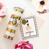Bold Stripes Tumbler - Marry Me Wedding Accessories & Gifts - 2