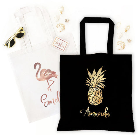 Tropical Tote Bags - Marry Me Wedding Accessories & Gifts