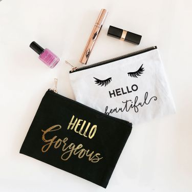 Theme Canvas Cosmetic Bags - Marry Me Wedding Accessories & Gifts