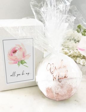 Bridal Party Proposal Bath Bombs - Marry Me Wedding Accessories & Gifts