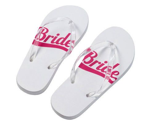 Bride Flip Flops - Marry Me Wedding Accessories & Gifts