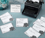 Typewriter Guest Cards - Set of 48 - Marry Me Wedding Accessories & Gifts - 2
