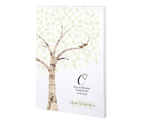 Wedding Signing Tree Canvas - Marry Me Wedding Accessories & Gifts - 1