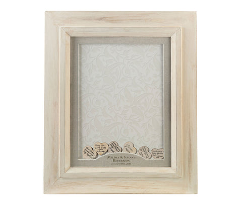 Frame for Signing Hearts - Marry Me Wedding Accessories & Gifts