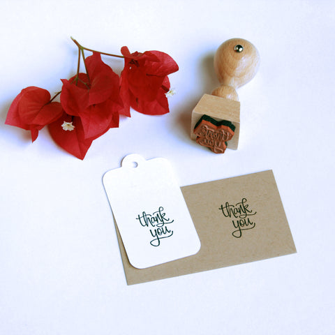 "Mini ""Thank You"" Stamp - Marry Me Wedding Accessories & Gifts"
