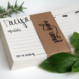 Hand Lettered Recipe Cards - Marry Me Wedding Accessories & Gifts
