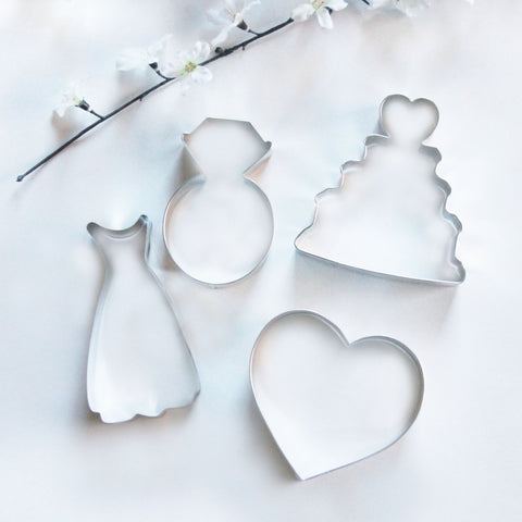 Bridal Shower Cookie Cutters