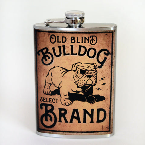 Bulldog Brand Flask - Marry Me Wedding Accessories & Gifts